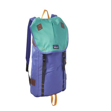 Patagonia Arbor Daypack - 26L.  This recycled polyester waterproof backpack has a sleek and efficient