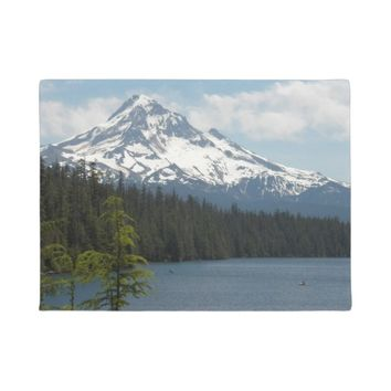 Scenic Mount Hood Photo Doormat