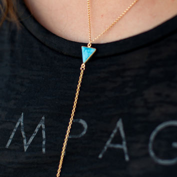 Betsy Pittard Designs Kyle Necklace - Turquoise
