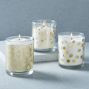 Decal Barware Scented Candles