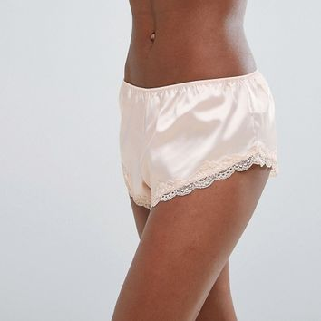 ASOS Skye Satin & Lace French Underwear at asos.com