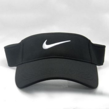 Nike Fashion Casual Outdoor Running Cap Cool Unisex Baseball Cap Hat Black G