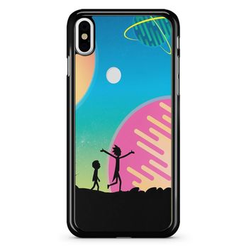 Rick And Morty - Star Viewing 4 iPhone X Case