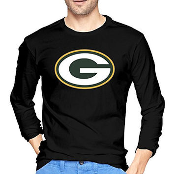 Man Green Bay Packers Championship Drive Gold Long Sleeve T Shirt Black