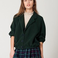 Cotton Ottoman Rib Jacket | American Apparel