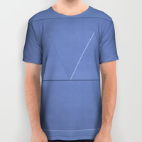 Ship Cove Shapes All Over Print Shirt by deluxephotos