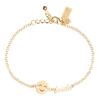 Kate Spade Tell All Bride Emoji Bracelet Pink Multi ONE