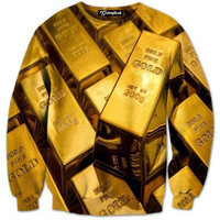 Gold Bars Crewneck