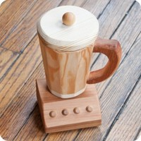 Wooden Play Blender