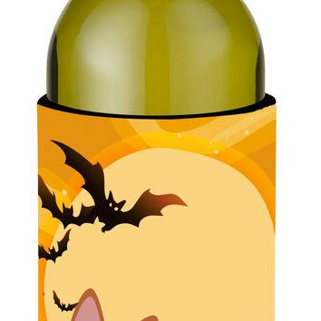 Halloween Sokoke Cat Wine Bottle Beverge Insulator Hugger BB4456LITERK