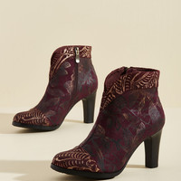 Deserved Decadence Leather Bootie