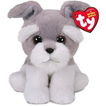 Ty® Beanie Babies Harper Grey Dog Stuffed Animal, 6""