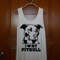 i love my pitbull Burn Tank Top  === size S L M XL 2XL 3XL, tanktop  for men