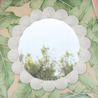 The Emily & Meritt Shell Mirror