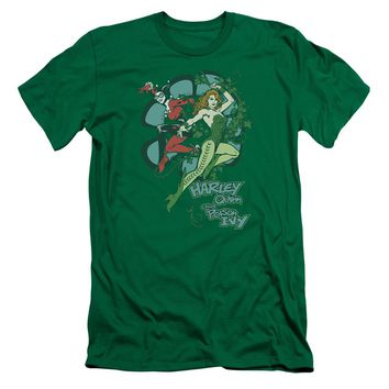 Dc - Harley And Ivy Premium Canvas Adult Slim Fit 30/1 Shirt Officially Licensed T-Shirt