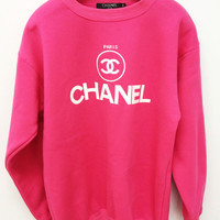 Pink chanel sweater