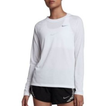 Nike Women's Breathe Long Sleeve Running Shirt | DICK'S Sporting Goods