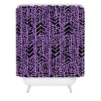 Nick Nelson Microcosm Orchid Shower Curtain