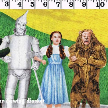 Wizard of Oz - Quilting Treasures - Yellow Brick Road