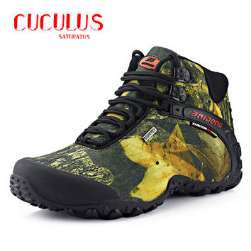 BAIDEN fashion outdoor climbing hiking boots waterproof men boot