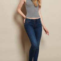 Blue Eclipse High Waist Jegging