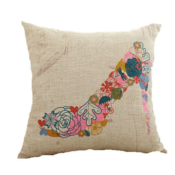 Pumps Decorative Throw Pillow Case 18 x 18