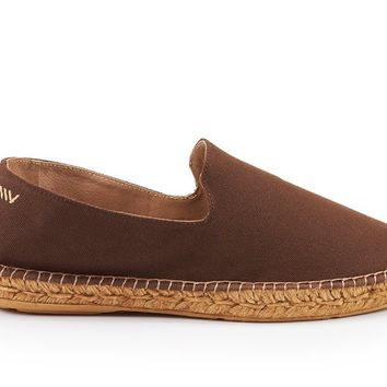 Portbou Canvas Espadrilles - Brown