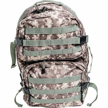 Digital Camo Water-Resistant, Heavy-Duty Army Backpack