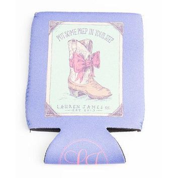 Prep In My Step Can Holder in Periwinkle by Lauren James - FINAL SALE