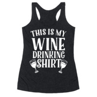 THIS IS MY WINE DRINKING SHIRT
