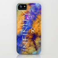 Infinity stars in Sagittarius constelation ∞ iPhone Case by Guido Montañés | Society6