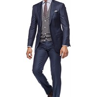 Suit Navy Plain Napoli P2778i | Suitsupply Online Store