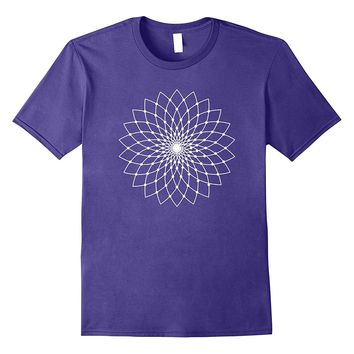 Sacred Geometry - Lotus Flower T-Shirt