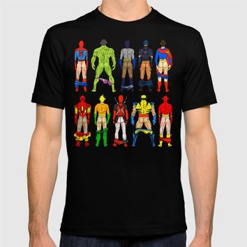 Superhero Butts T-shirt by Notsniw