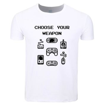 Choose Your Weapon - Video Game Controller  - Gamer T-shirt