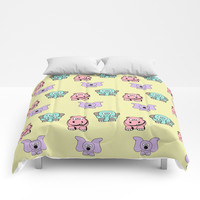 Cute Animals Comforters by Knm Designs