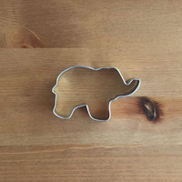 """Elephant Cookie Cutter 3.25"""""""