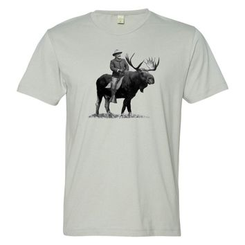 Teddy Roosevelt Bullmoose Men's T-Shirts