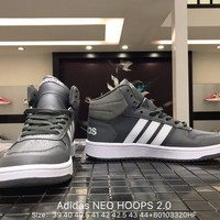 Adidas NEO HOOPS 2.0 Skateboarding Shoes Sneakers From Bailey B Wear  Size:36-44
