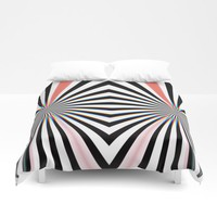 Hypno Duvet Cover by duckyb