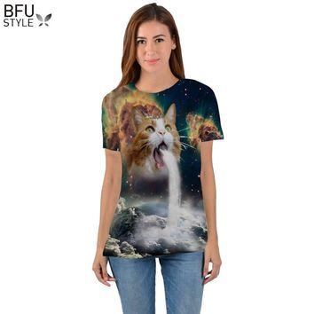21 Styles 3D T Shirt Men Women Summer Fashion Thundercat Camiseta Fearless Kitty Cat Lightning T Shirts Harajuku Tees Casual Top