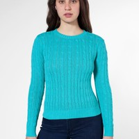 rsakwcp - Women's Cable Knit Pullover