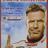 Will Ferrell - Will Ferrell 3-Movie Collection: The Other Guys / Step Brothers / Talladega Nights: The Ballad of Ricky Bobby