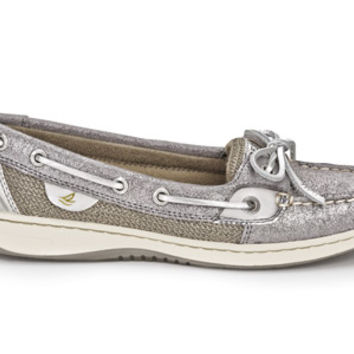 Sperry Top-Sider Women's Sparkle Suede Angelfish Boat Shoe