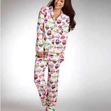 P.J. Salvage: Novelty Cupcake Parade Pajama Set