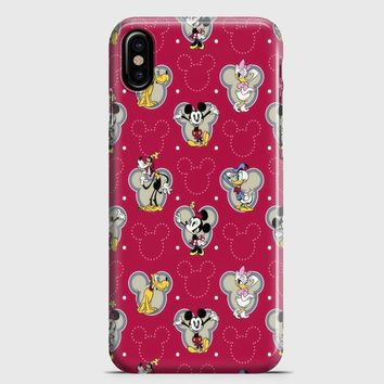 Swag Hipster Mickey iPhone X Case