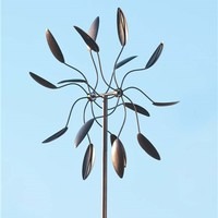 Kinetic Wind Spinner With Dancing Leaves | Best-Selling Yard and Patio