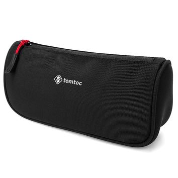 Tomtoc Laptop Accessories Pouch Bag Sleeve for Laptop Tablet Power Adapter, Charger, Mouse, Cable, Hard Drives, Pen Case Pencil Pouch, Travel Toiletry Organizer Shaving Dopp Kit Cosmetic Bag