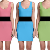 Powerpuff Girls Costume Cosplay (tank mini style)