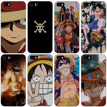 One piece Hard Black Plastic Case Cover for iPhone